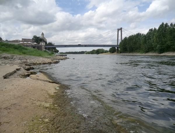 La Loire qui se dessine ....