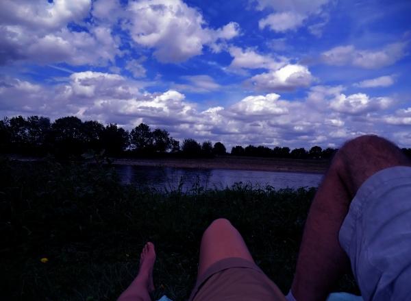 La Loire à la belle étoile...
