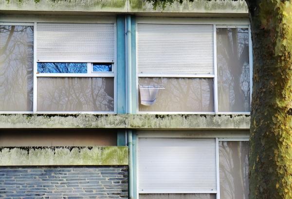 La façade a besoin d'un coup de serpillière...