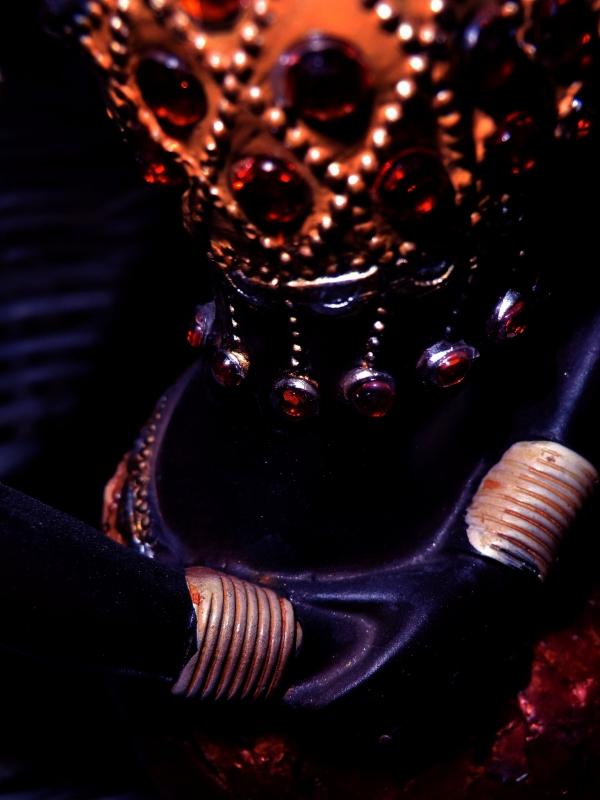La divinité du rubis oriental....