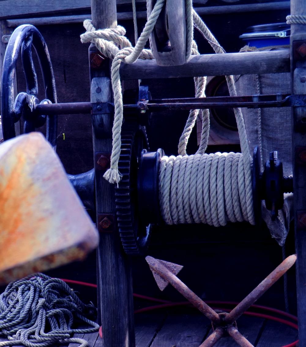 Entrer la corde à l'aiguille,rapiécer la barrique