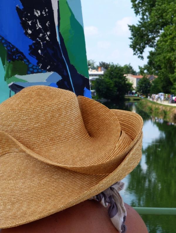 Le méandre du chapeau à la Venise Verte...