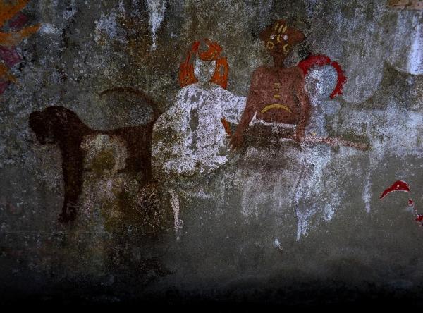 Dans la légende Mésopotamie,le mariage sacré.