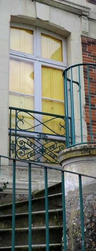 L'escalier de Penrose sur trois virages à angle...