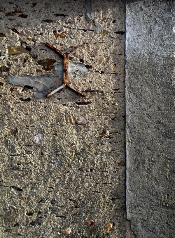 Ennoblir à l'âge mur du béton les surfaces...