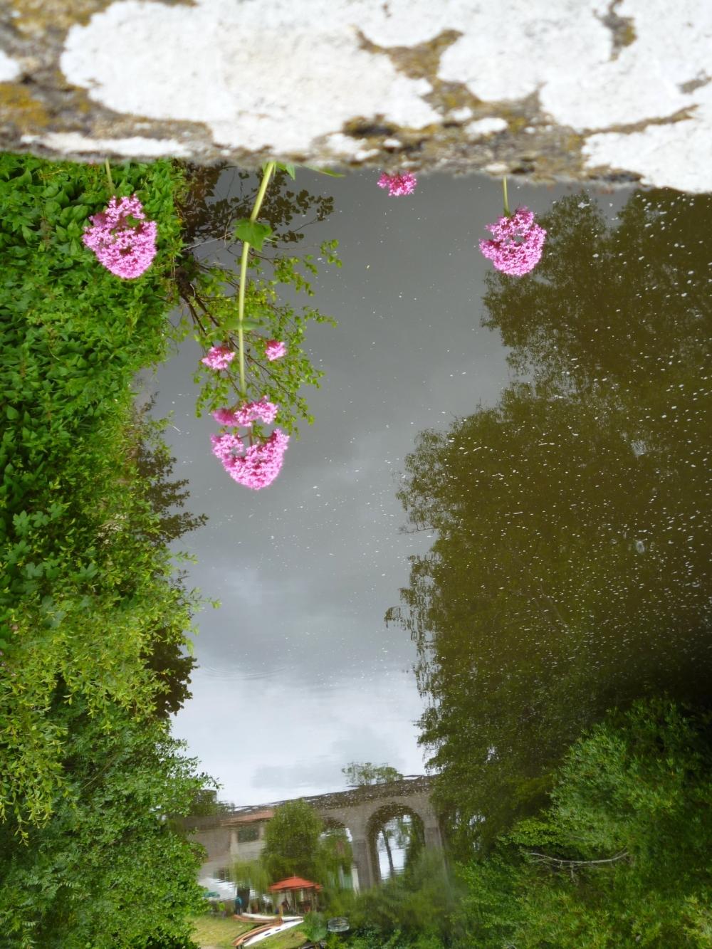 Le viaduc se tend à fleur de ciel....