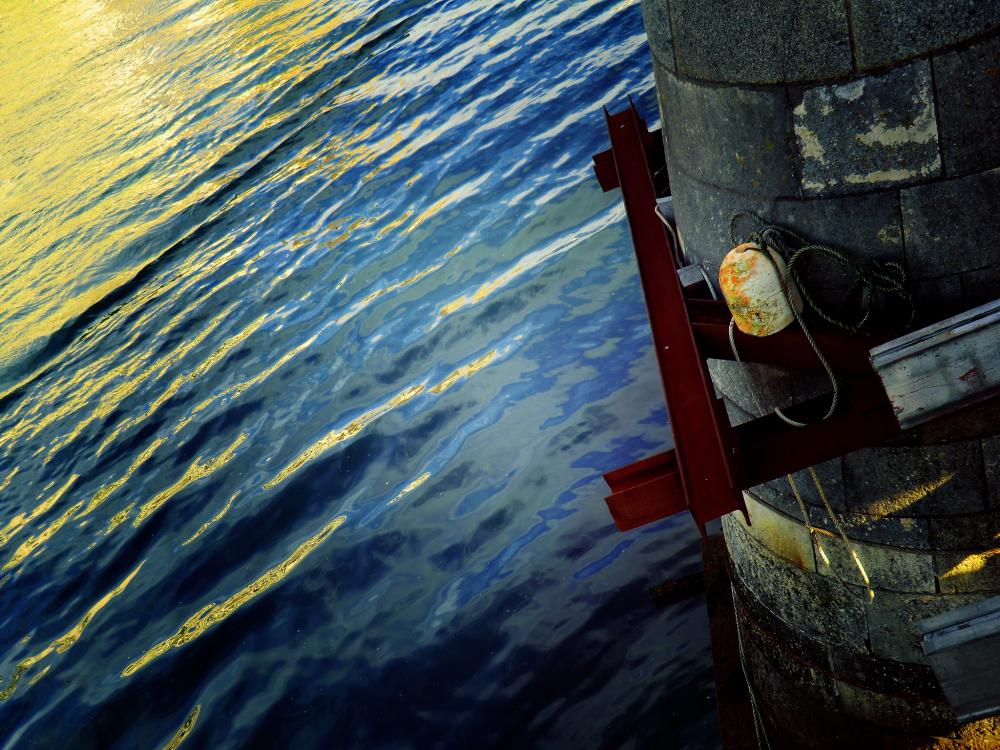 Sombre espoir de plonger sans se retenir à sa vie