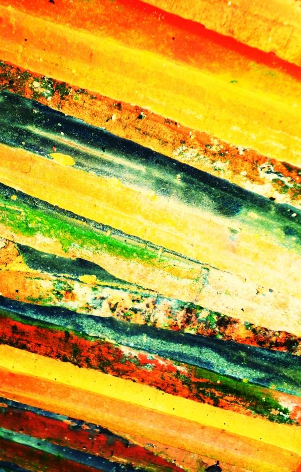 Chaque étape de la vie est colorée par tranches