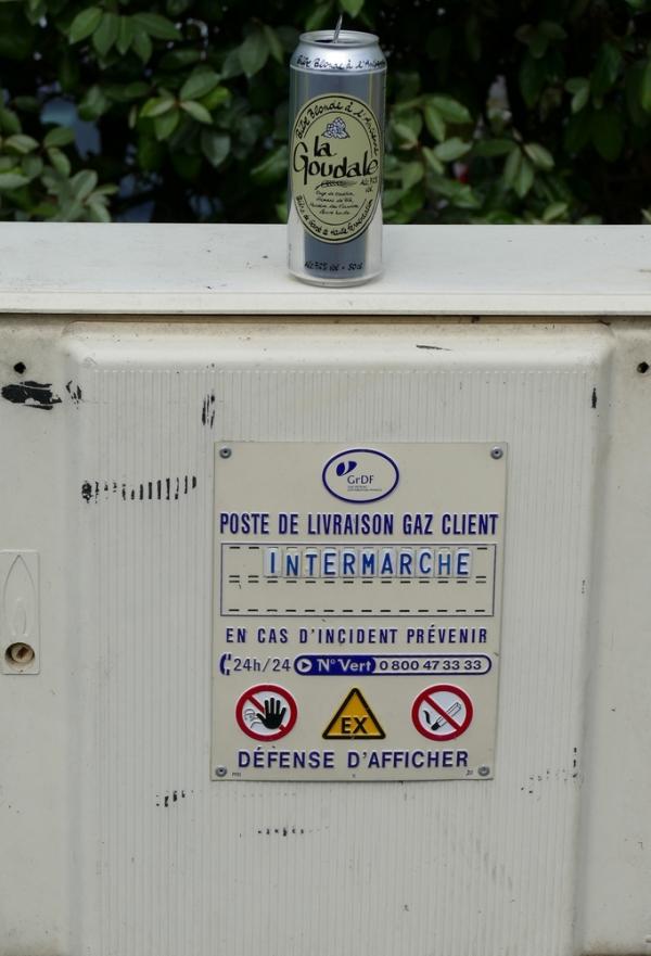 Boire du gaz en se livrant du danger...