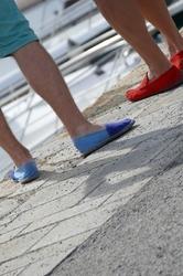 Espadrille ou mocassin,on se sent bien chaussés