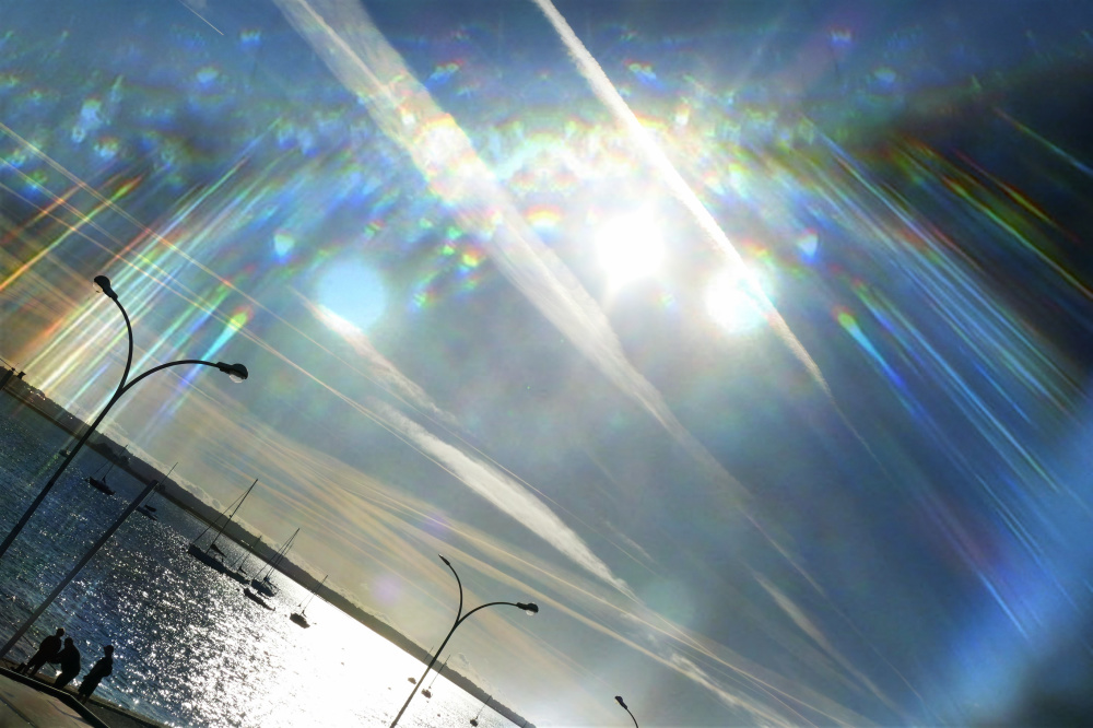 Un rayon de lumière qu'on aperçoit l'un et d'autre
