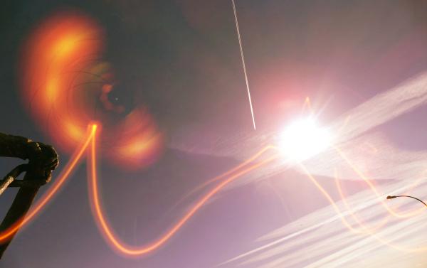 Tirer la vitesse de l'oeil supersonique...