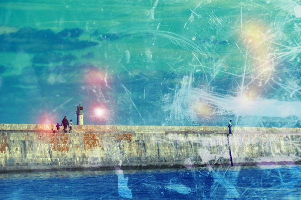 La brillance de l'horizon à suivre dans son oeuvre