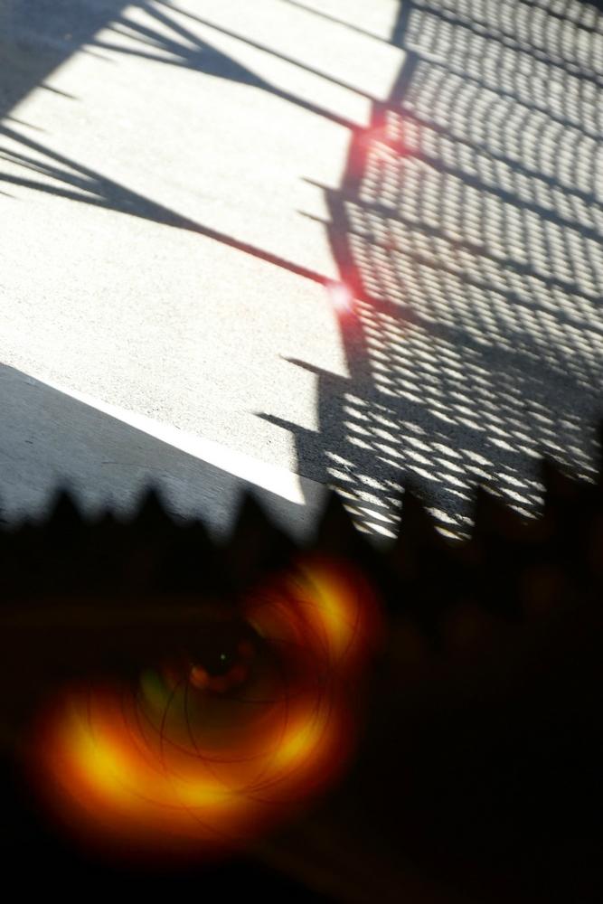 L'oeil ouvert sur une ombre...