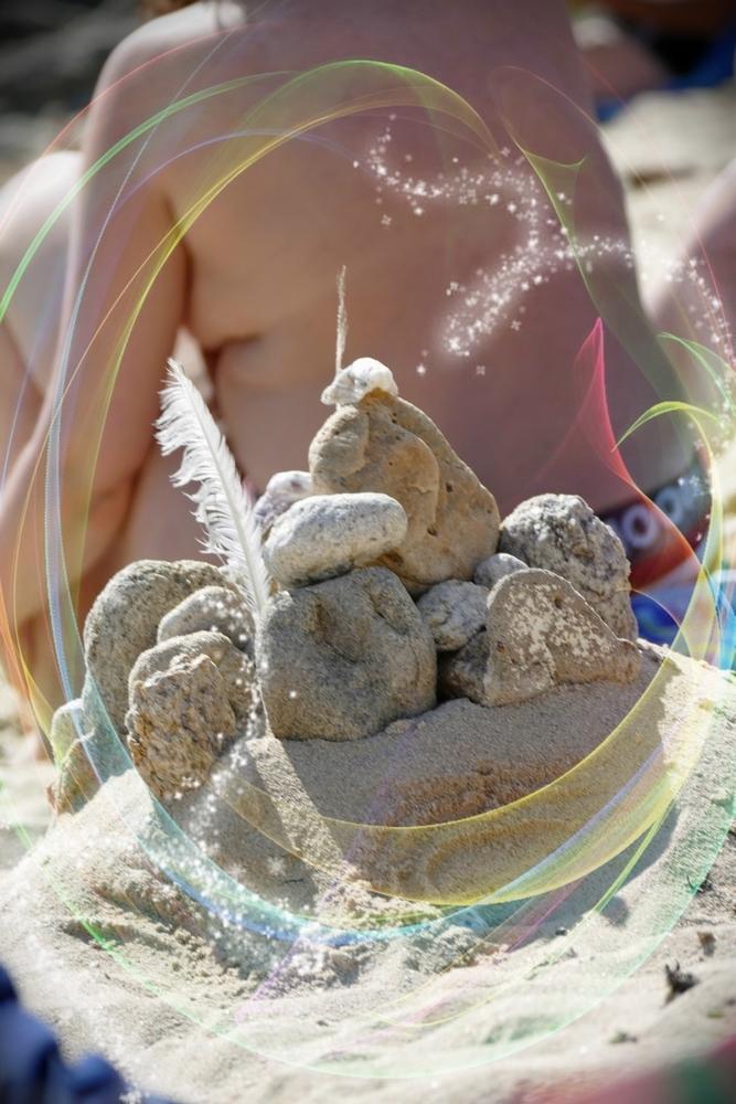 La vie est légère comme une plume sur le dos ...