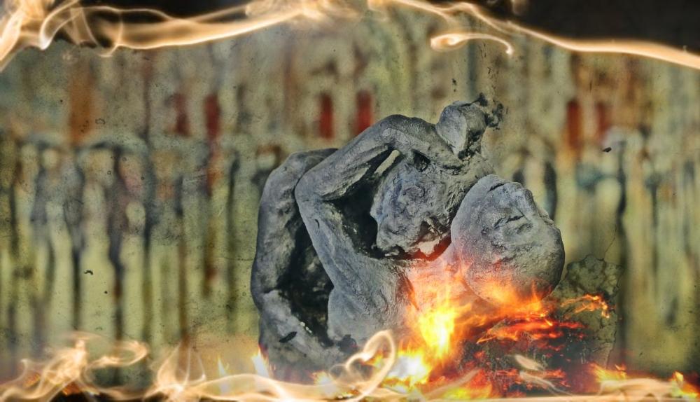 La passion amoureuse est affamée de baisers de feu