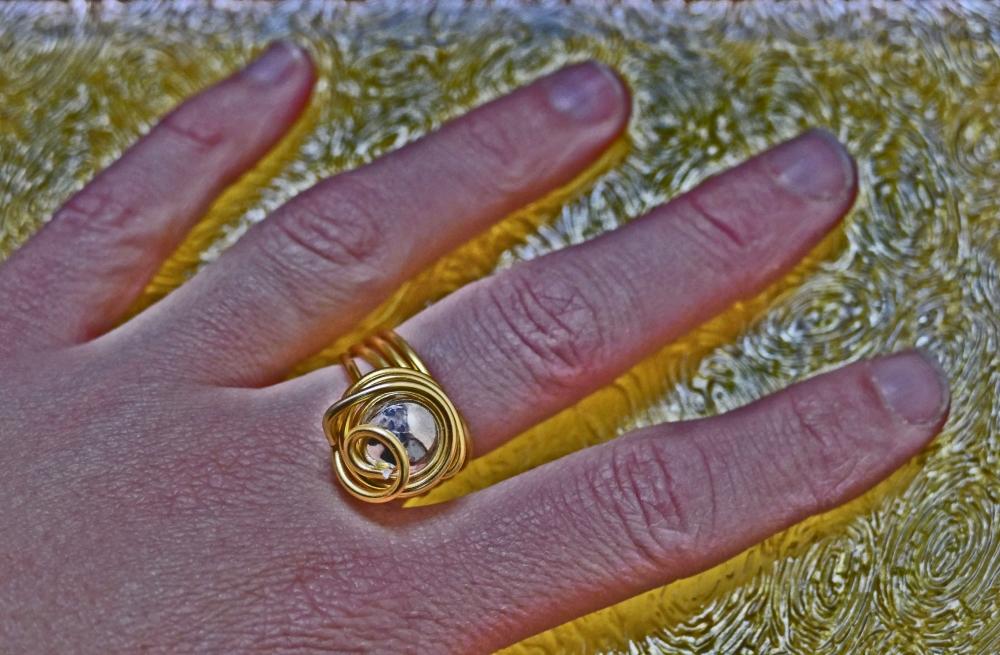 De l'or sous les doigts...