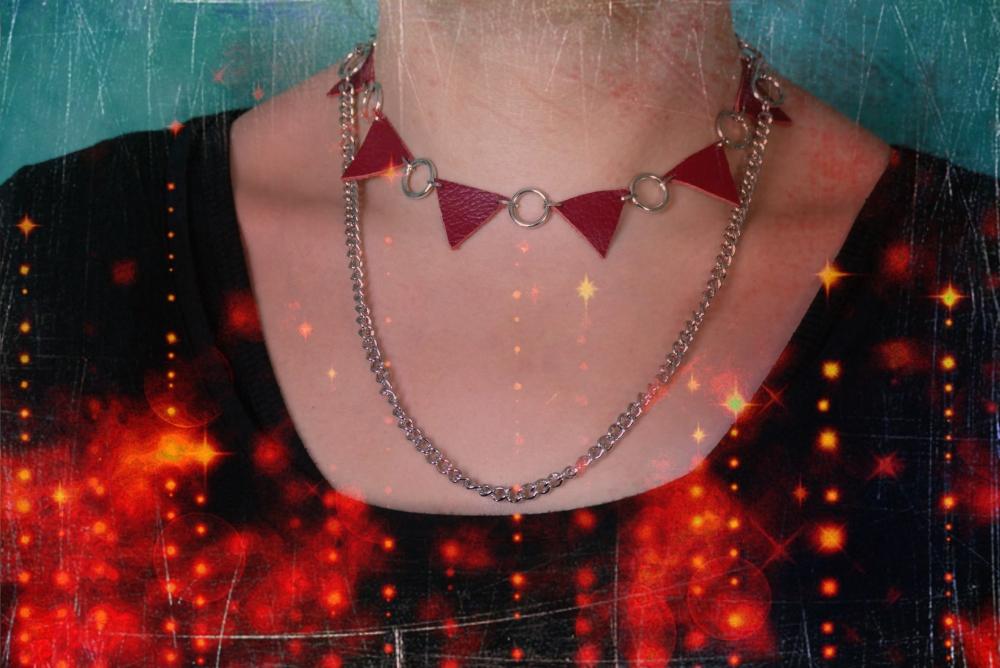 Ce collier boit la sueur de votre sang cou par cou