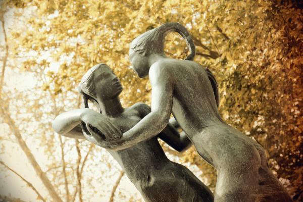 Un regard de bronze....