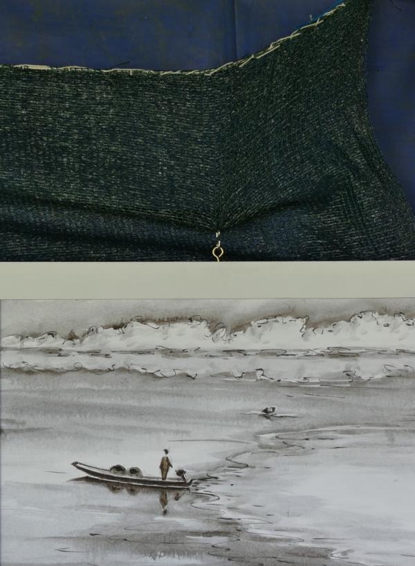 Le bateau de papier tangue...