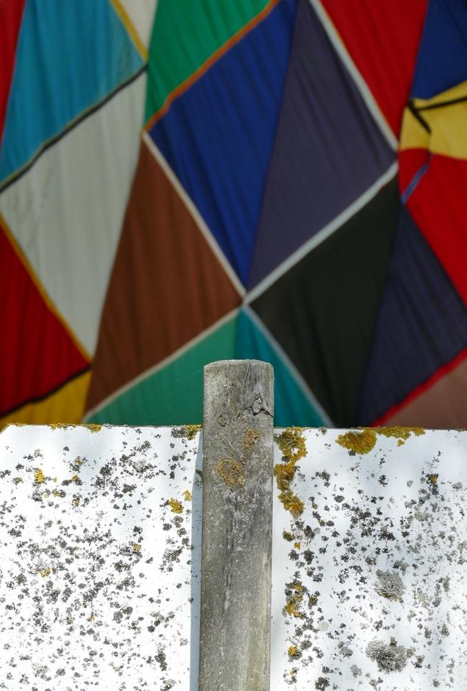 Tracer une vision géométrique de mosaïque voilée