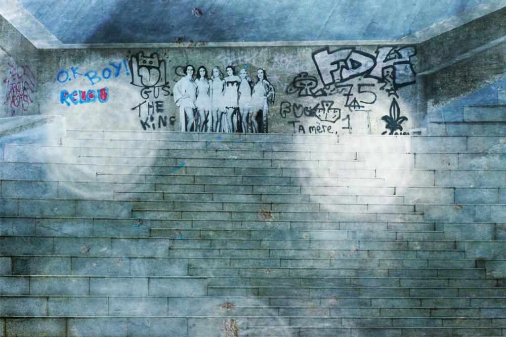 C'est relou de s'aventurer aux murs du quartier...