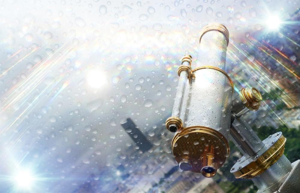 La pluie optique n'est pas une illusion...