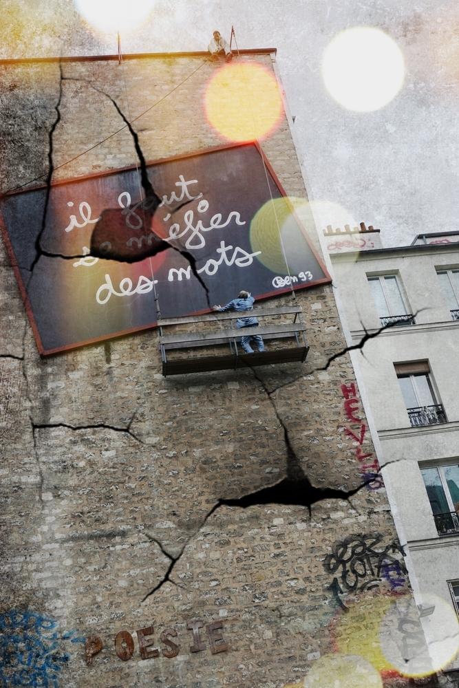 Se méfier des mots qu'on veut accrocher au mur