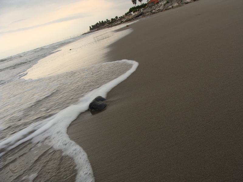 Sea in the gradient