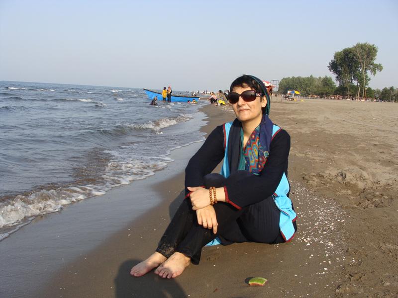 خودم با دریا