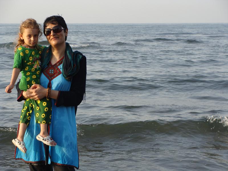 خودم  و دریا و الینا