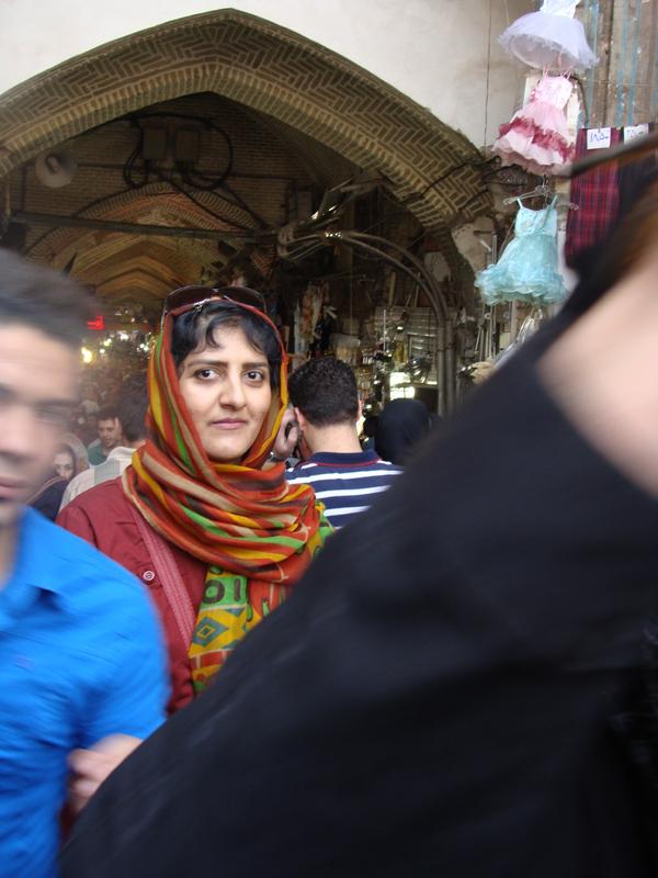 خودم در بازار تهران
