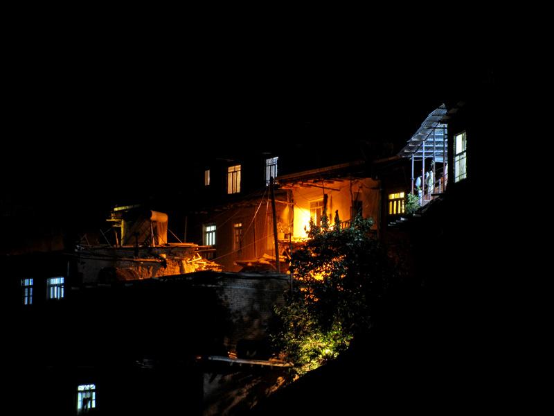 "Village Bedtime"""