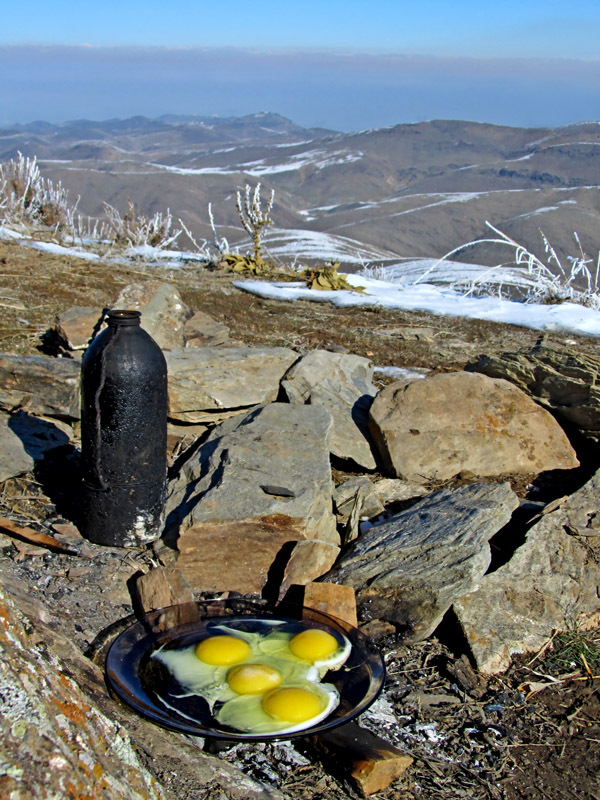 Breakfast on the Mountain!