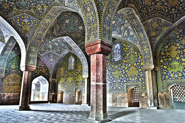 isfahan Imam-mosque hdr