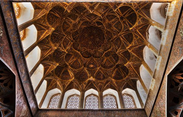 iran isfahan Ālī-Qāpū Music-Room