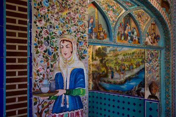 iran isfahan naghshe-jahan restaurant