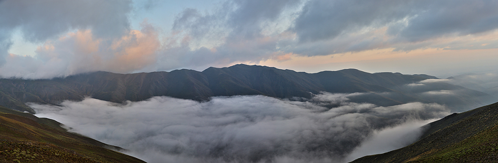The valley of clouds