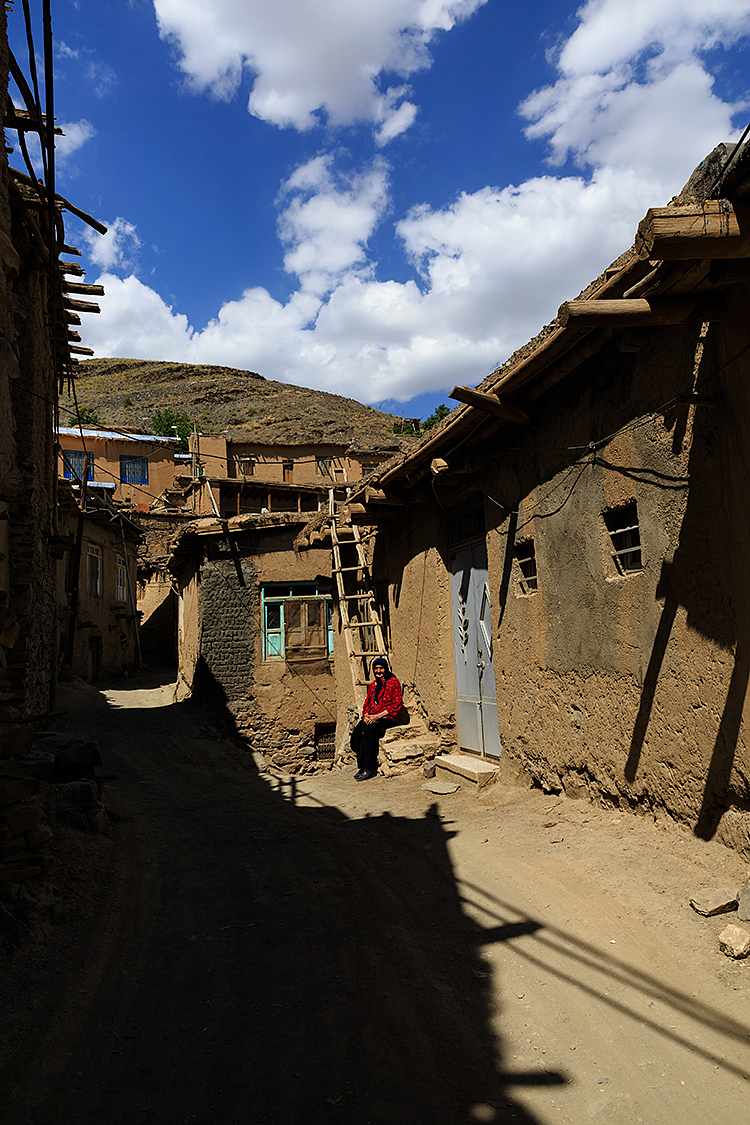 in the village alleys