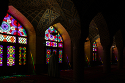 colorful mosque
