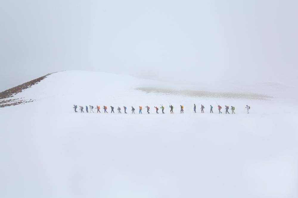 Climbing group