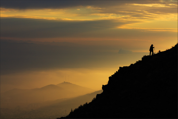Climb at sunrise