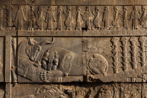 Bas-relief in Persepolis *