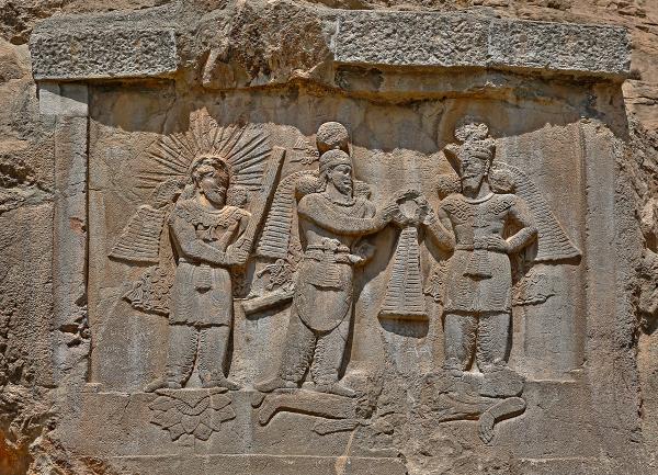 Coronation of Ardashir II