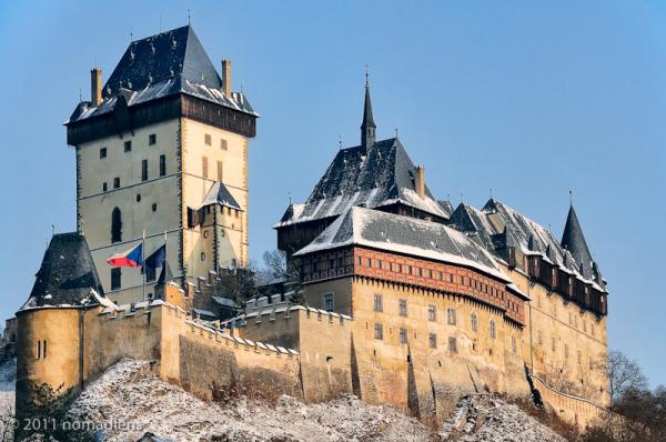 Karlstejn Castle, Bohemia, Czech Republic