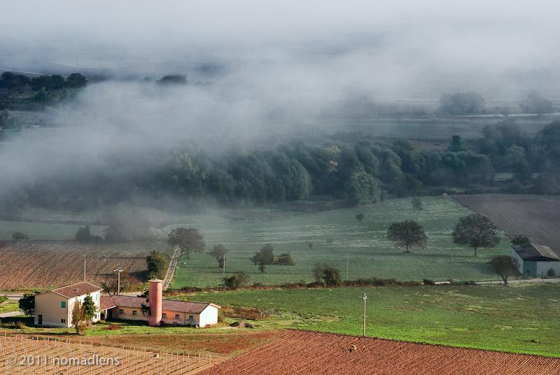 Farm below Capestrano, Tirino Valley, Abruzzo
