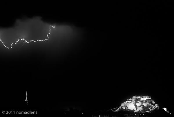 Lightning, Lhasa, Tibet