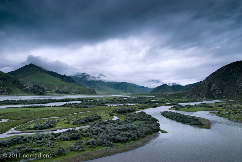 Kyi Chu River, Phongdo, U, Tibet