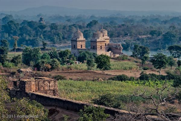 Temple Ruins, Orccha, MP, India