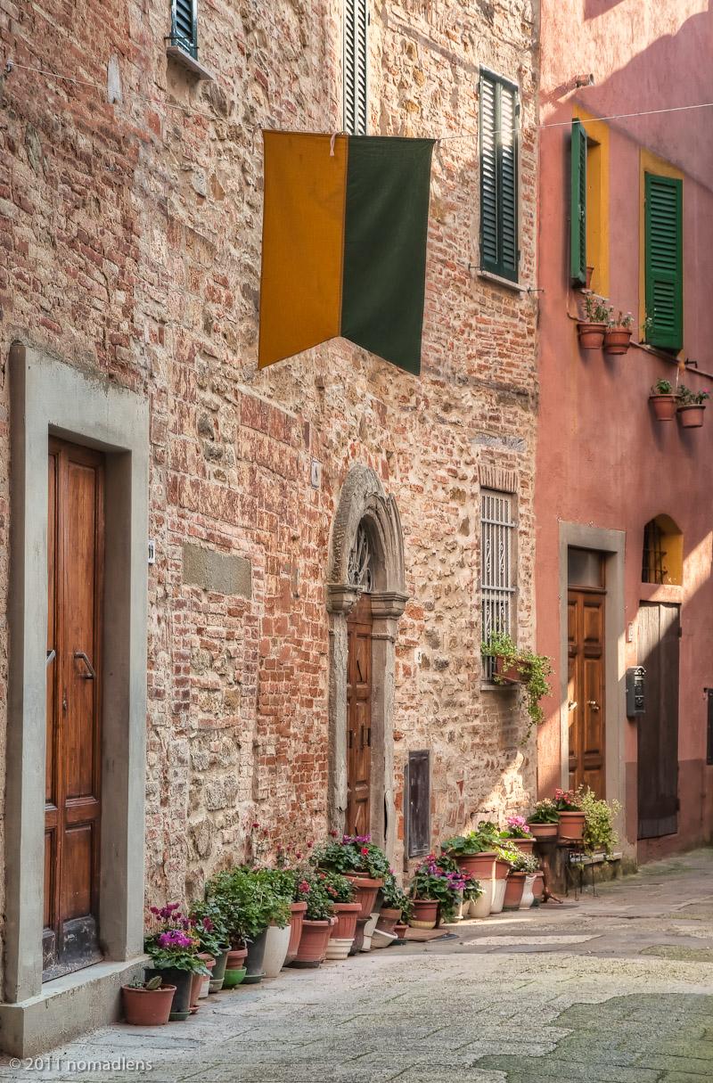 Via Virgilio Ceppari, Panicale, Umbria, Italy
